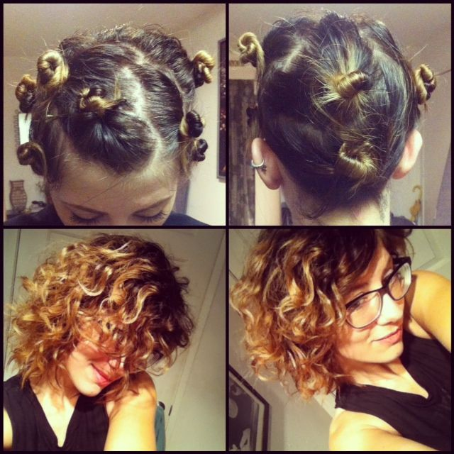 DIY Natural Curls I Gave My Straight Hair This Amazing