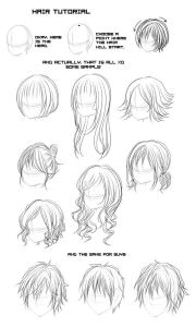 ideas anime hair