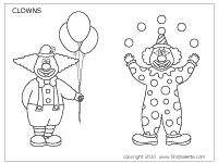 1000+ images about clowns to embroider on Pinterest