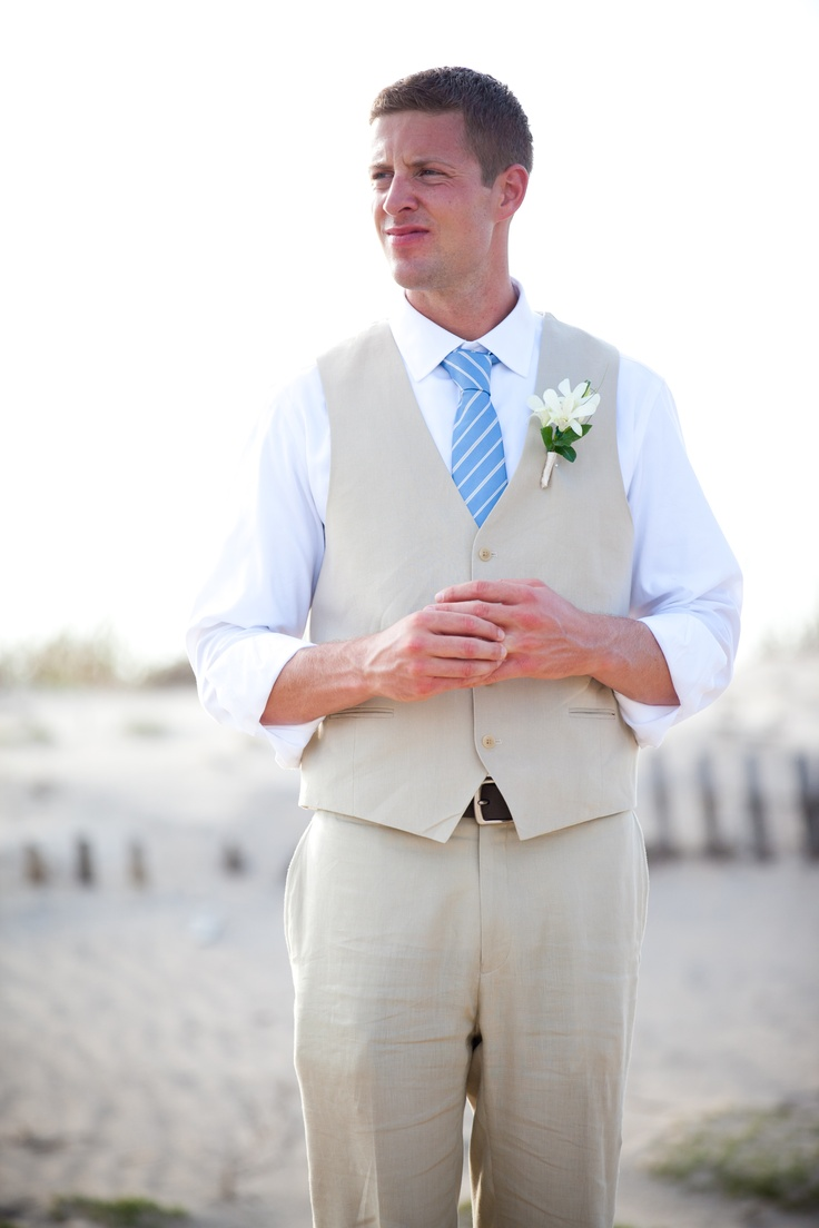 Beach wedding attire for my groom  122113 Jamaican