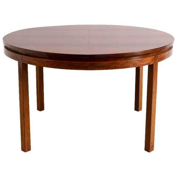 Round Dining Room Table Extendable