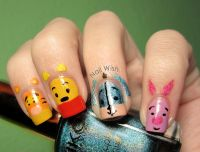 35 best images about Eeyore Nails on Pinterest | Nail art ...