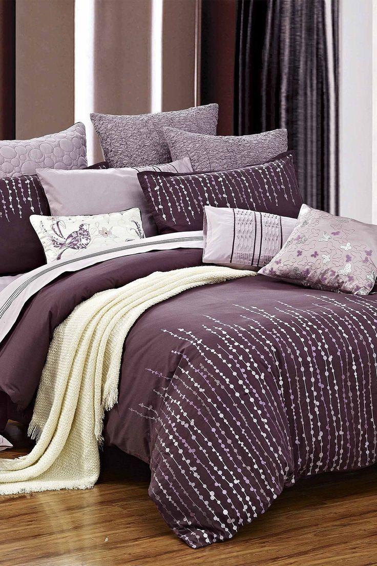 Grapevine Duvet Set  Purple on HauteLook  Bedroom  Pinterest  Lilacs Bedding sets and Head to