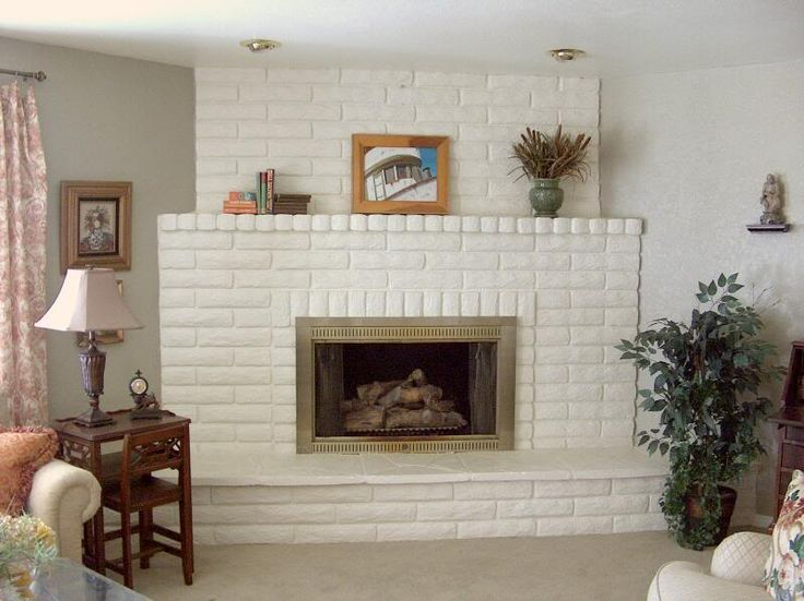 Fireplace Brick Paint Colors Please Show Me Your Painted Brick Fireplace. - Home