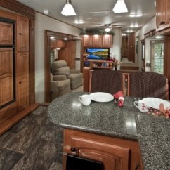 Twin Pull Out Sofa Recliner Bed Set My Dream Camper Interior! Big Country Luxury Fifth Wheel ...