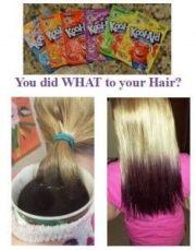 kool aid hair dye kids