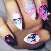 goth nail art ideas