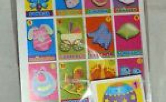 Mexican Baby Shower Loteria Bingo Board Game 8 Boards
