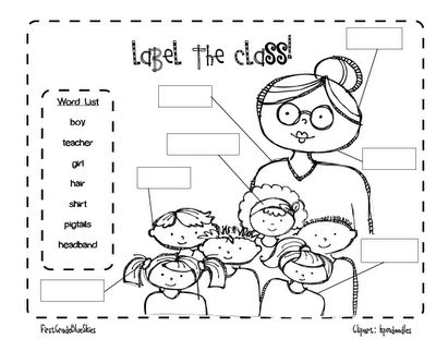 1000+ images about Kindergarten Labeling on Pinterest