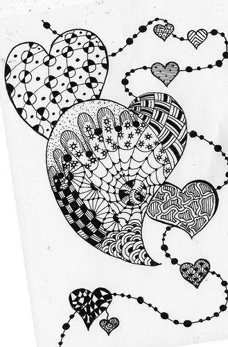 103 best The black & white heart images on Pinterest