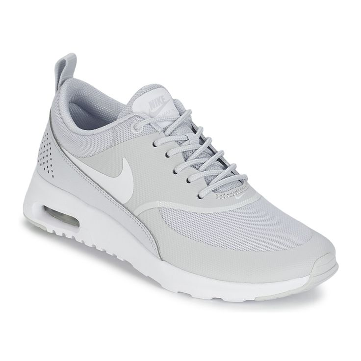 baskets basses nike air max thea w gris prix promo baskets femme spartoo