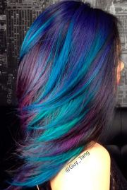 1000 ideas blue hair colors