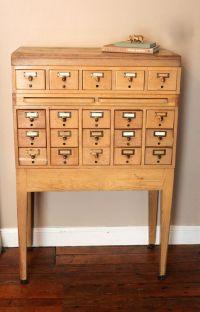 Best 20+ Vintage File Cabinet ideas on Pinterest ...
