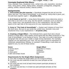 Short Story Plot Diagram Terms Harbor Breeze Ceiling Fan Remote Wiring 35 Best Images About Cask Of Amontillado On Pinterest