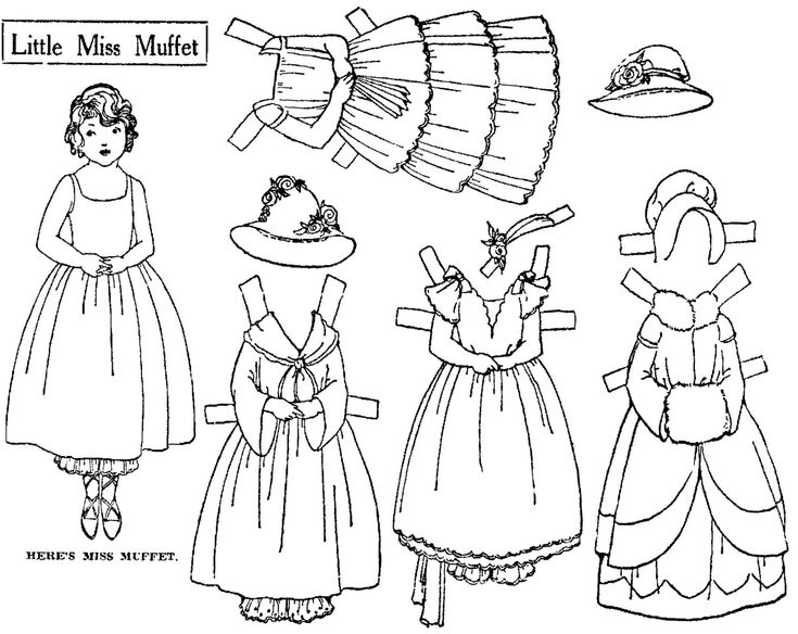 17 Best images about fairy tale paper dolls on Pinterest