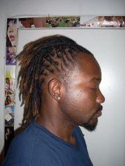 wale dreads braided