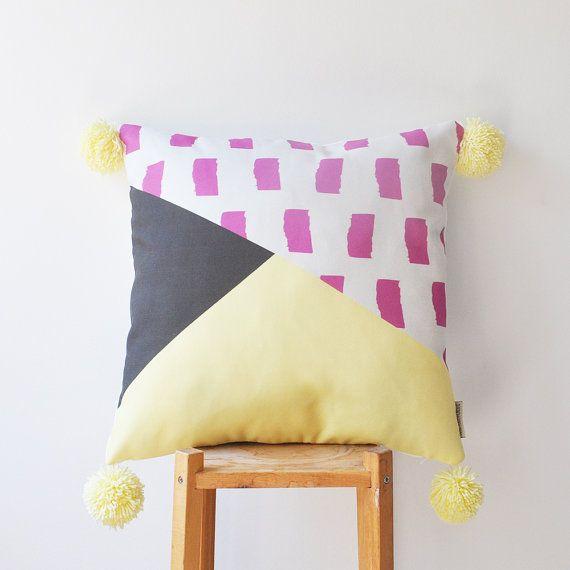 Decorative Pillow Kids Pillows Modern Nursery Pillow