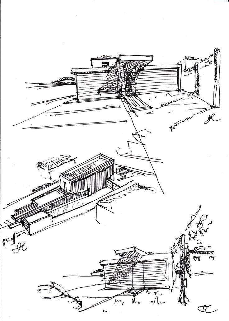 64 best images about Architecture Sketch on Pinterest