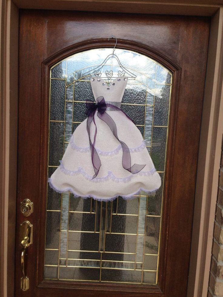 Bridal Shower Door Decoration  Bridal shower  Pinterest  Shower doors Bridal shower and Doors