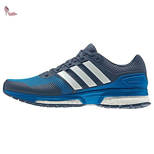 adidas response m chaussures de running homme azul blanco azuimp