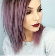 ideas purple bob