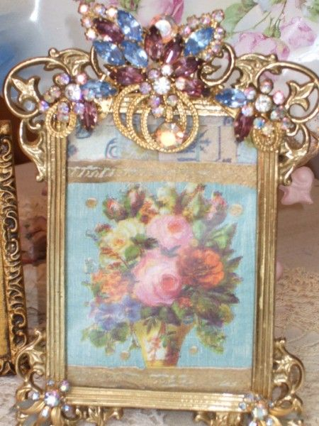 79 Best Images About Jewel Picture Frames On Pinterest