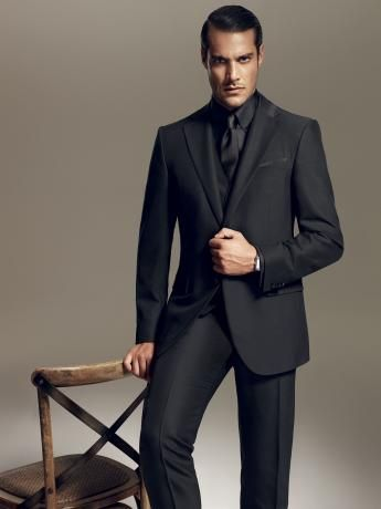 formal black suit my