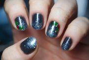 christmas nail art check