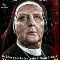 Volksbelustigung Merkel
