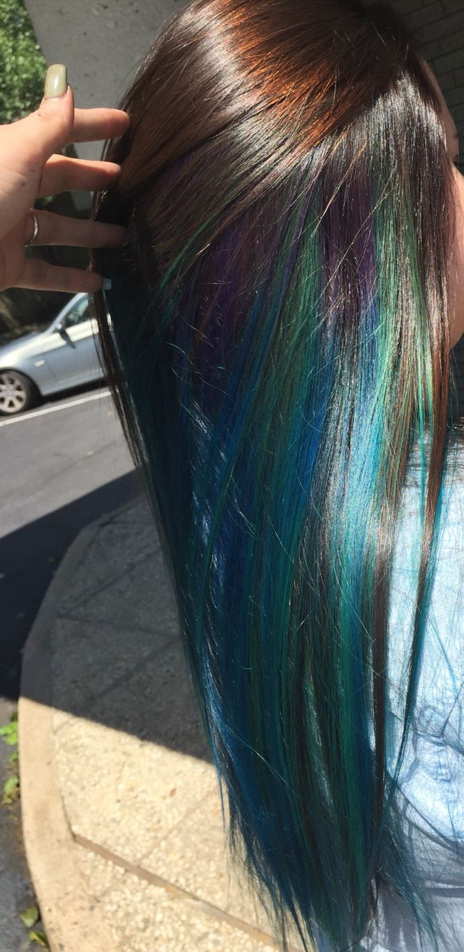 25 Great Ideas About Purple Highlights Underneath On