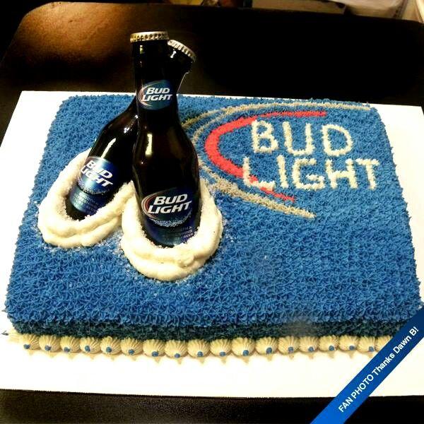 Bud Light Cake Cake Decorating Ideas Pinterest Bud