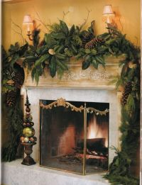 24 best images about Holiday Fireplace Decor on Pinterest ...
