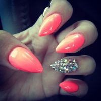 Fashion For > Cute Pointy Nails Designs Tumblr | Nails ...