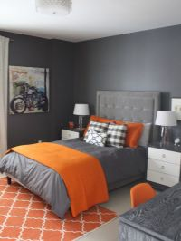 The 25+ best ideas about Grey Orange Bedroom on Pinterest ...