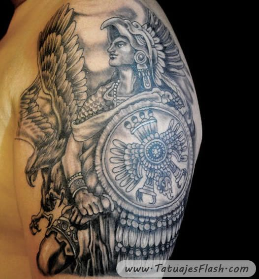 20 Tattoos Guerreros Mayas Ideas And Designs