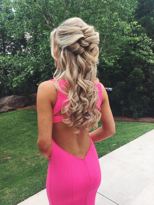 30 Cute Prom Hairstyles Half Up Half Down Hairstyles Ideas Walk