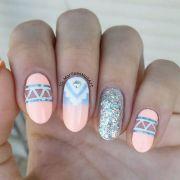 ideas aztec nails