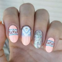 25+ best ideas about Aztec Nails on Pinterest | Tribal ...