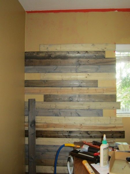 EverTrue Edge VGroove unfinished pine paneling for pallet