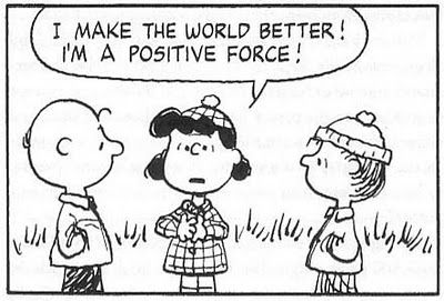 Peanuts. Lucy: