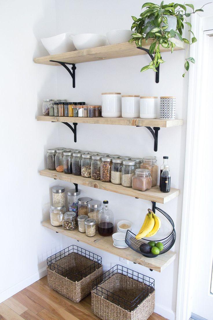 Best 10 Kitchen wall shelves ideas on Pinterest  Open