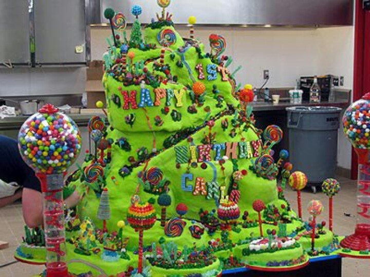 Coolest Birthday Cake Ever Sick Food Nation