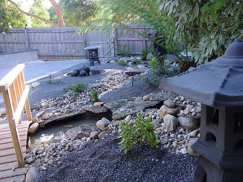 Asian Themed Backyards This Is A Wonderful Example Of The Use Of