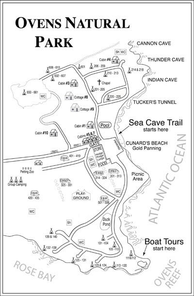Sea Cave Trail @ The Ovens Natural Park is a privately