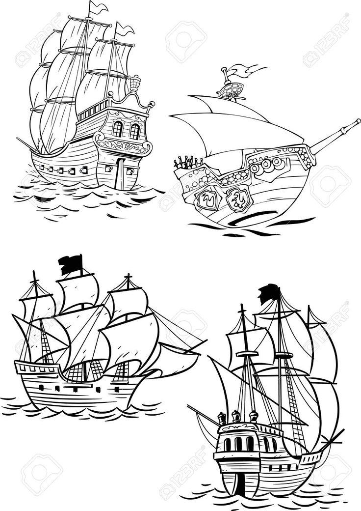 17 Best images about Barcos, naves en el mar. on Pinterest