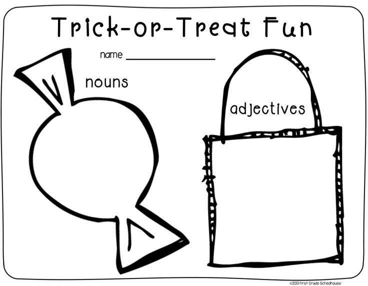 Halloween Writing for Firsties. First grade writing