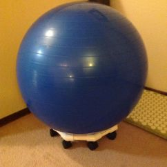 Exercise Desk Chair High Ball Base | Chairs Pinterest Chairs, And