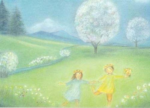 Ruth Elssser May Flowering Trees Waldorf Spring