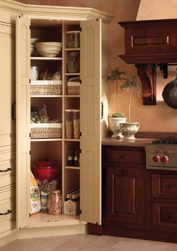 kitchen island ideas for small kitchens custom built cabinets corner pantry design, pictures, remodel, decor and ...
