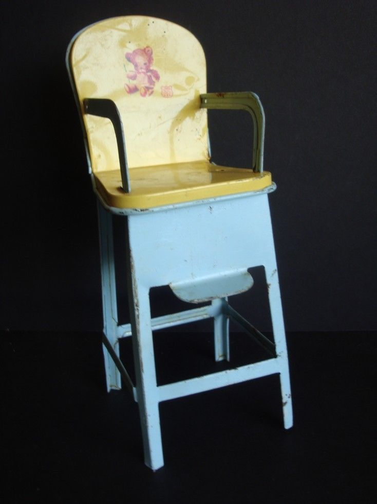 hand painted wooden chairs design chair and table 1950s vintage high chair: 10+ handpicked ideas to discover in other | wood chairs, baby ...